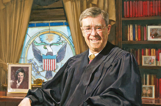 Visit the Judges' Portraits Gallery to see paintings and information about Ninth Circuit judges, including Judge O'Scannlain, pictured here.